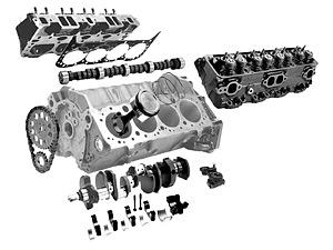 Детали двигателя Land Rover