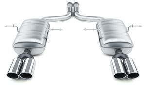 Выхлопная система (система выпуска отработанных газов)