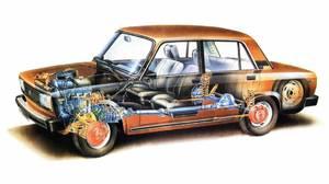 Кузовные детали (железо, оптика, салон) Fiat
