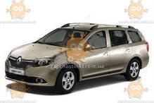 Ветровик Renault Logan MCV II универсал 2013 -  (скотч) AV-Tuning