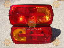 Фонарь УАЗ 469, 452 ГЕЛЕНТВАГЕН! Gelenvagen ТЮНИНГ! (с оранжевыми вставками) цена за 1шт (пр-во Россия) М 3733893