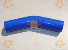 Патрубок радиатора ЗИЛ 130 СИЛИКОН! 4-ех слойный! подводящий 130-1303025-Б2 (внутренний диаметр 52мм, наружный 60мм, длина угла 170мм и второго угла