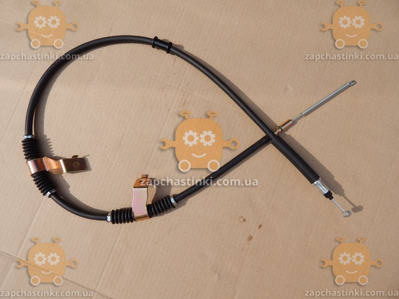 Трос ручника Chevrolet LACETTI левый (пр-во Корея) З 598953 - фото