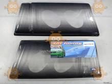 Защита фар ВАЗ 2108 - 21099 ТЮНИНГ (пластик крепкий) модель ОЧКИ ТЕМНЫЕ (2шт) (пр-во Россия) ПД