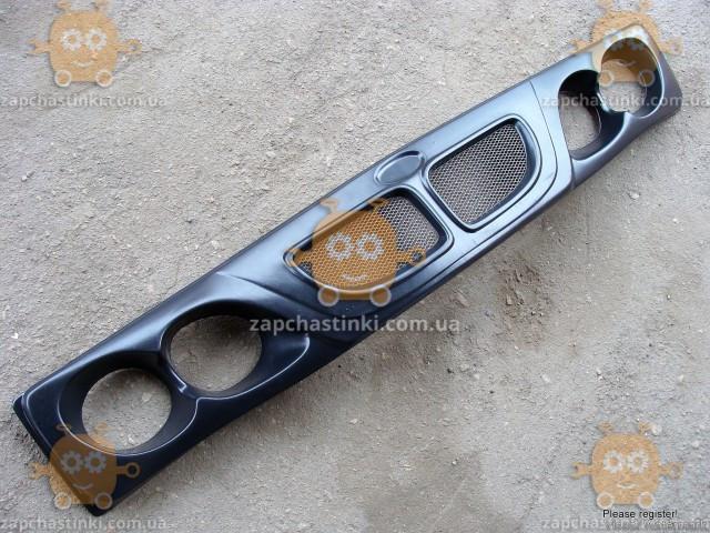 Решетка радиатора ВАЗ 2103, 2106 ТЮНИНГ! BMW сетка (3400) (пр-во Россия)  ПИР 30053 - фото