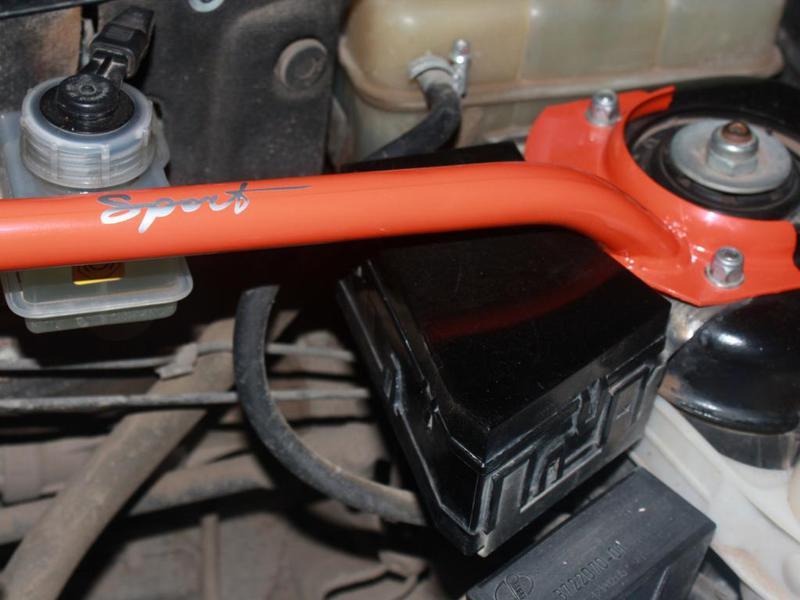Растяжка передних стоек ВАЗ 2110 пр-во СамараСитек - фото