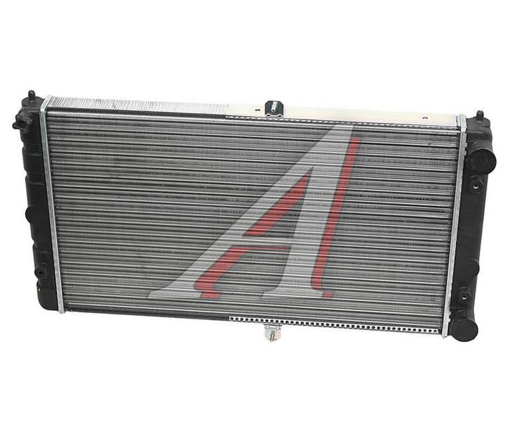 Радиатор охлаждения ВАЗ 2112 алюм. пр-во ДК - фото