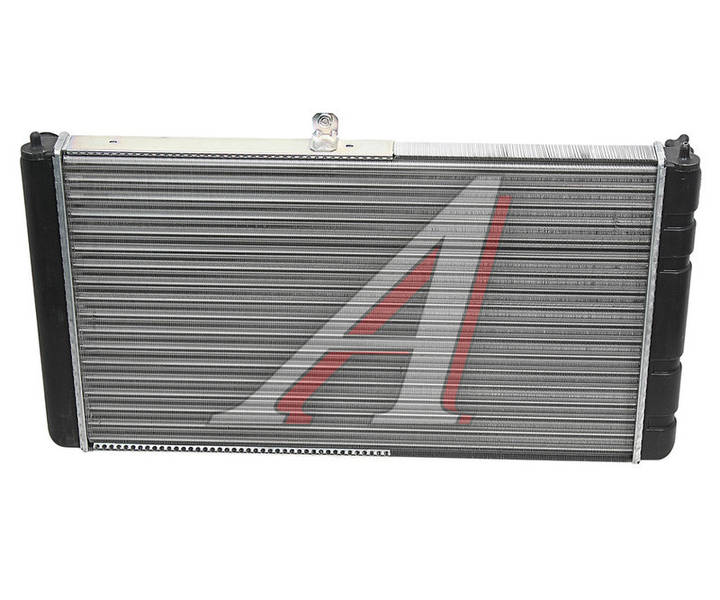 Радиатор охлаждения ВАЗ 2112 алюм. пр-во ДК - фото №2