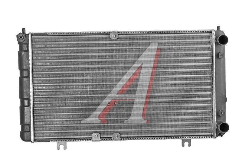 Радиатор охлаждения ВАЗ 1118 алюм. пр-во ДК - фото
