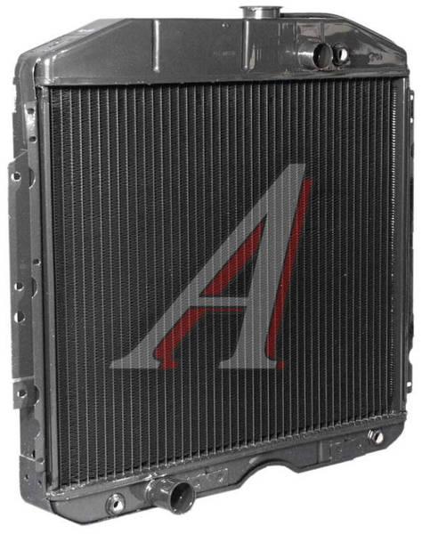 Радиатор охлаждения ГАЗ 53 медный 3-рядный пр-во ИРАН - фото