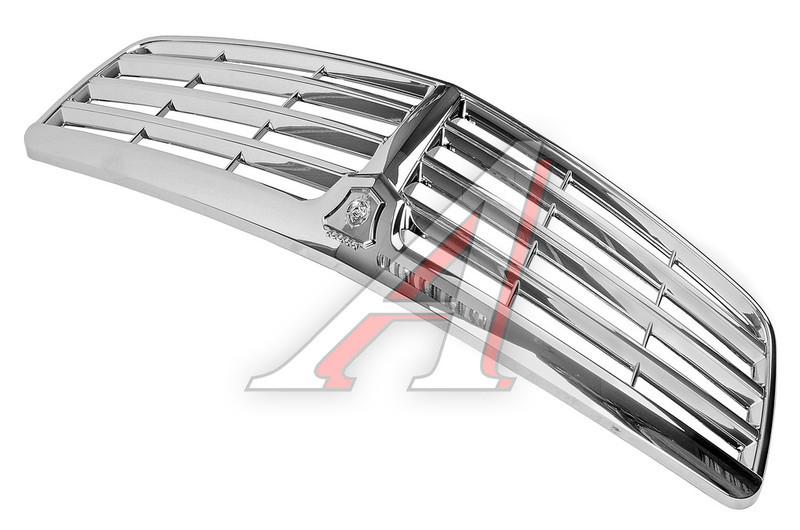 Решетка радиатора Волга 31105 хром Mercedes РАСПРОДАЖА! (пр-во ГАЗ оригинал! Россия) - фото №3