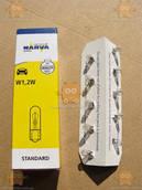 Лампа щитка приборов, габаритов без цоколя (10шт) 12V 1,2 W W2X4.6D (пр-во NARVA Германия) Качество! З 645103