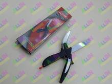 Универсальные кухонные ножницы нож-ножницы 3 в 1, умные ножницы (пр-во Clever cutter)