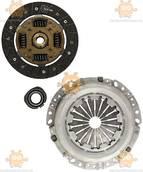 Комплект сцепления DACIA LOGAN 1.6 (Корзина+диск+выжимной)(пр-во Hahn&Schmidt Германия) ЕЕ 102773