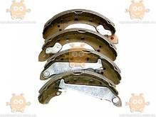 Колодки тормозные задние CHEVROLET AVEO, ZAZ FORZA (пр-во CRB Корея) ЕЕ 099069
