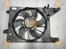 Вентилятор радиатора DACIA LOGAN 2008 с кондиционером (пр-во EuroEx Венгрия) ЕЕ 109786