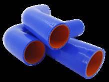 Патрубки радиатора УАЗ 451 90 л.с. (комплект 3шт) (силикон) АТП 451-1303000 Предоплата