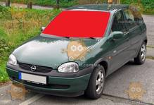 Стекло лобовое Opel Corsa 2000-06г. МПЗ, VIN (пр-во SAFE GLASS Украина) ГС 103993 (предоплата 250 грн)