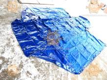 Тент Газель удлиненная база 2-х стор. 14 люверсов увеличенная высота +40см 500г/м кв. СИНИЙ(БелТент) М 3801833