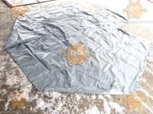Тент Газель удлиненная база 2-х стор. 14 люверсов увеличенная высота +40см 500г/м кв. СЕРЫЙ(БелТент) М 3801823