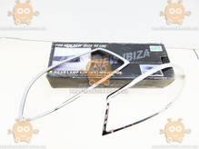 Накладки передних фар SEAT IBIZA (2002, 2003г) ХРОМ 2шт ТЮНИНГ (пр-во IDEA FIRST Польша)