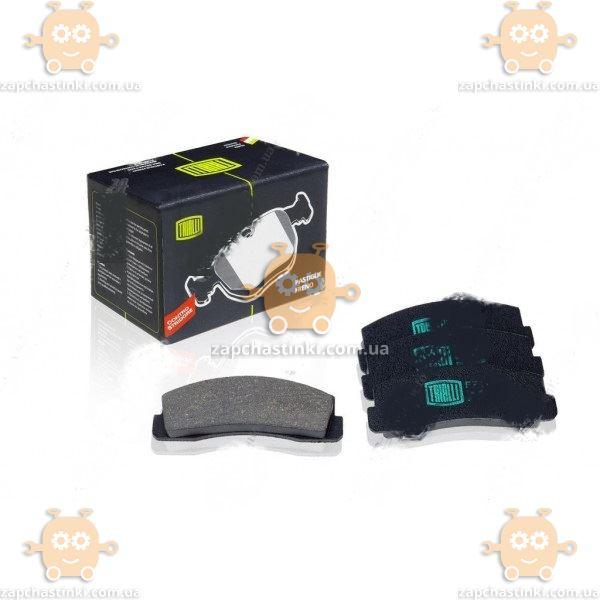 Колодка тормозная ВАЗ 2121 передняя 4шт (пр-во Trialli) ЗЕ 00002373 - фото