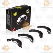 Колодки тормозные барабанные VW JETTA (после 2011г) 230x32 (пр-во TRIALLI Италия) ЗЕ 00003955