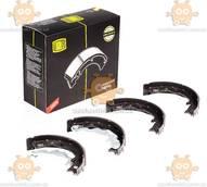Колодки тормозные RIO 2 (от 2005г) барабанные задние, стояночного тормоза 168x32 (пр-во TRIALLI) ЗЕ 00064724