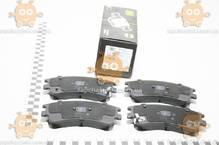 Колодки тормозные HONDA CIVIC 8 (после 2005г) дисковые задние (пр-во TRIALLI Италия) ЗЕ 00025600