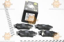 Колодки тормозные HONDA CR-V (после 2006г) дисковые задние (пр-во TRIALLI Италия) ЗЕ 00025602