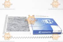 Фильтр салона AUDI A4 1.6-3.2, 1.9TDI-3.0TDI, A6 1.8-4.2, 1.9TDI, 2.5TDI (угольный) (NORDFIL) ЗЕ 00013834