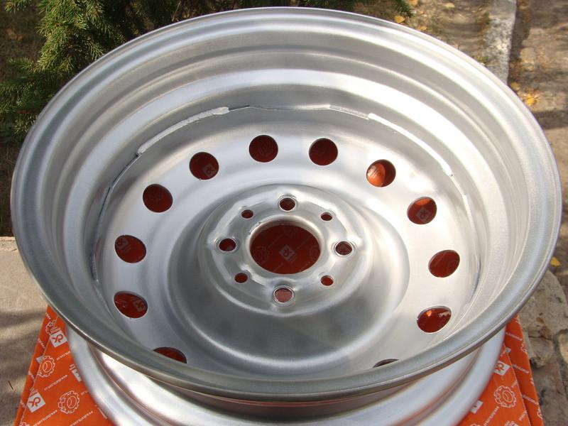 Диск колесный ВАЗ 2110 - 2112 R14 5Jx14H20 серебро (пр-во ДК) - фото №5