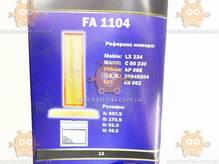 Воздушный фильтр MERCEDES 507 D, 510, 609 D, 709 D, 809 D (пр-во FUSION Германия) ФЮ FA 1104