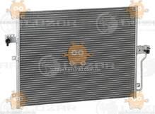 Радиатор кондиционера Actyon, Kyron 2.0, 2.3 (от 2005г) АКПП, МКПП (пр-во Luzar Россия) ЗЕ 39324