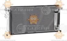 Радиатор кондиционера Lancer 1.3, 1.6, 2.0 (от 2003г) АКПП, МКПП с ресивером (пр-во Luzar Россия) ЗЕ 26766