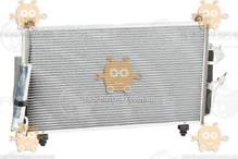 Радиатор кондиционера Outlander 2.0, 2.4 (от 2003г) АКПП, МКПП (пр-во Luzar Россия) ЗЕ 39323
