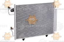 Радиатор кондиционера Pajero III (от 2000г) с ресивером (пр-во Luzar Россия) ЗЕ 56801