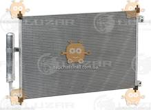 Радиатор кондиционера X-trail 2.0, 2.2, 2.5 (от 2007г) АКПП, МКПП (пр-во Luzar Россия) ЗЕ 37468