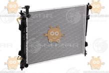 Радиатор охлаждения Kia Cerato (от 2009г) AT6 (пр-во Luzar Россия) ЗЕ 15458