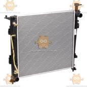 Радиатор охлаждения Kia Sorento III (от 2014г) 2.2D AT (пр-во Luzar Россия) ЗЕ 15460