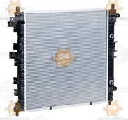 Радиатор охлаждения Action, Kyron 2.0Xdi, 2.3i (от 2005г) (4A, T, 6A, T) (пр-во Luzar Россия) ЗЕ 46293