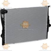 Радиатор охлаждения BMW 3 E90 1.8i, 2.0i, 2.5i, 3.0i (от 2005г) (пр-во Luzar Россия) ЗЕ 52924