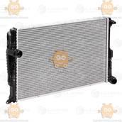 Радиатор охлаждения BMW X3 (F25) (от 2010г) АКПП (пр-во Luzar Россия) ЗЕ 00004091