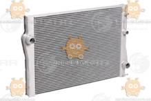 Радиатор охлаждения BMW X5 (E70) (от 2006г) 3.0i, 3.0d, 4.0d, 3.0t АКПП (пр-во Luzar Россия) ЗЕ 00004092