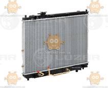 Радиатор охлаждения Carens 1.8, 2.0 (от 1999г) АКПП (пр-во Luzar Россия) ЗЕ 22420