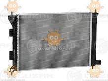 Радиатор охлаждения Ceed 1.4, 1.6, 2.0 (от 2012г), Elantra 1.6, 1.8 (от 2011г) МКПП (Luzar Россия) ЗЕ 26756