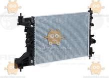 Радиатор охлаждения Cruze 1.6, 1.8 (от 2009г) АКПП (пр-во Luzar Россия) ЗЕ 22412