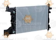 Радиатор охлаждения Cruze 1.6, 1.8 (от 2009г) АКПП (пр-во Luzar Россия) ЗЕ 22414