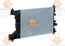 Радиатор охлаждения Cruze 1.6, 1.8 (от 2009г) МКПП (пр-во Luzar Россия) ЗЕ 22413