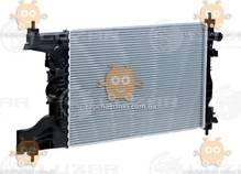 Радиатор охлаждения Cruze 1.6, 1.8 (от 2009г) МКПП (пр-во Luzar Россия) ЗЕ 22411